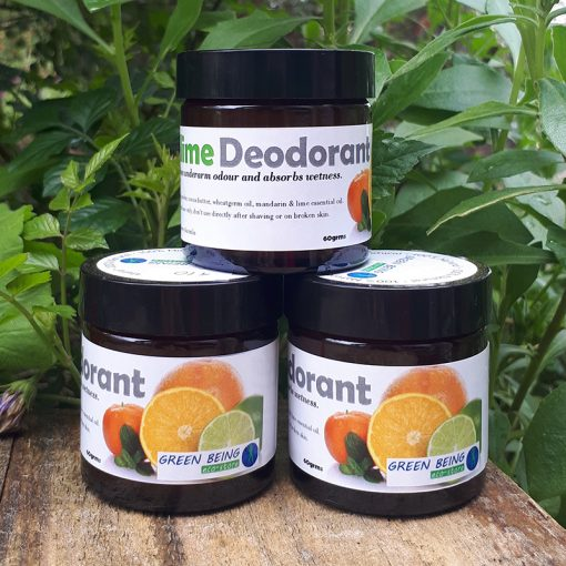 Mandarin and Lime Deodorant