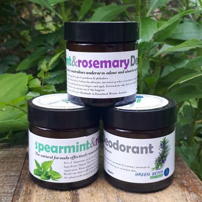 Rosemary and Spearmint Deodorant